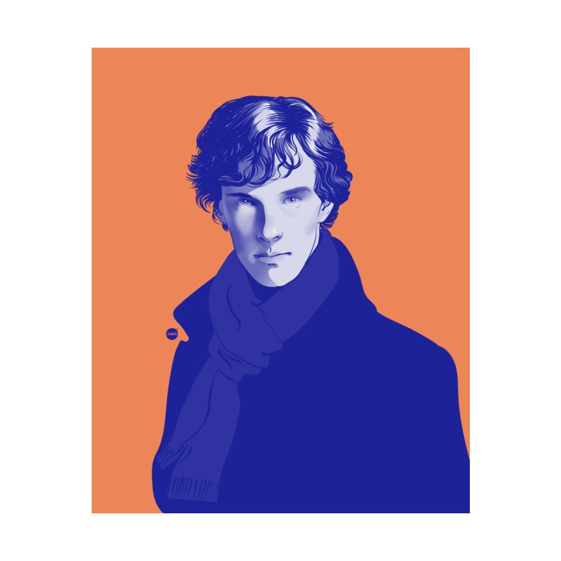 Sherlock Home Throw Pillow by Katerina Lyadova | Art