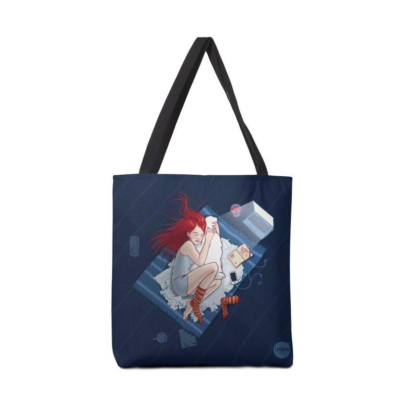 Sleeping Accessories Bag by Katerina Lyadova | Art