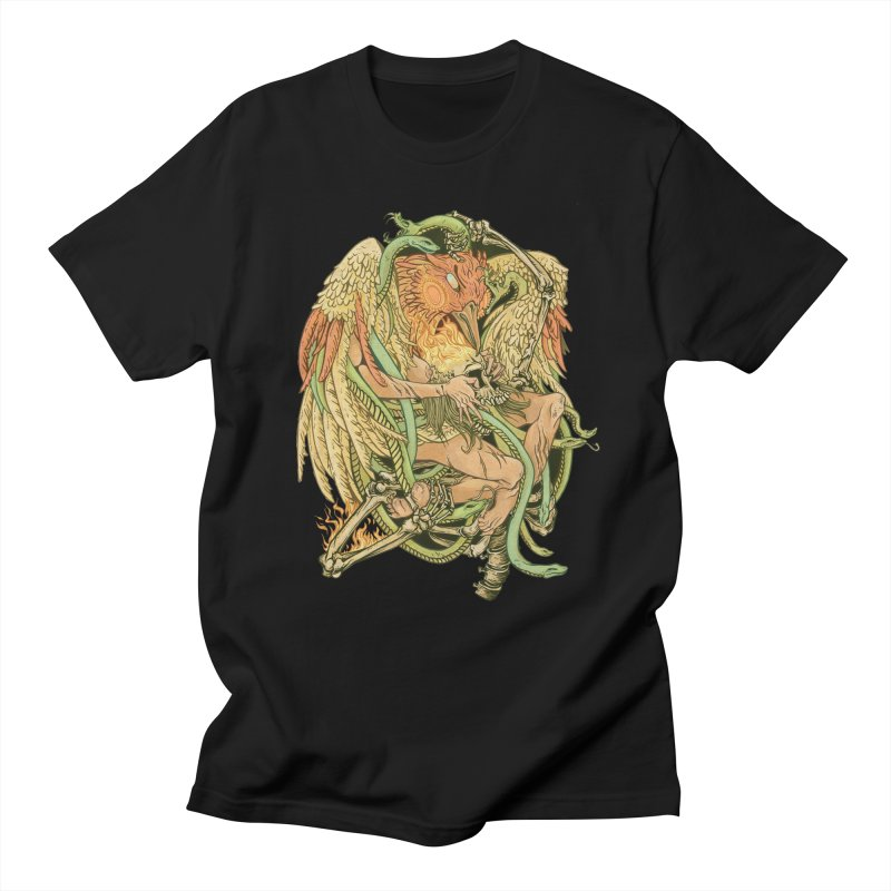 The Bird and Death Men's T-Shirt by lydiabrim's Artist Shop