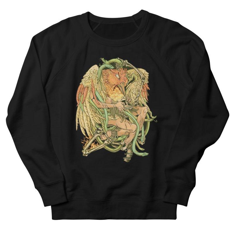 The Bird and Death Men's Sweatshirt by lydiabrim's Artist Shop