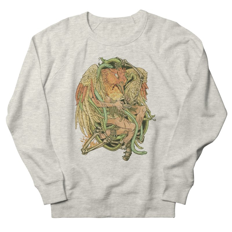 The Bird and Death Men's Sweatshirt by lydiabrim's Artist Shop