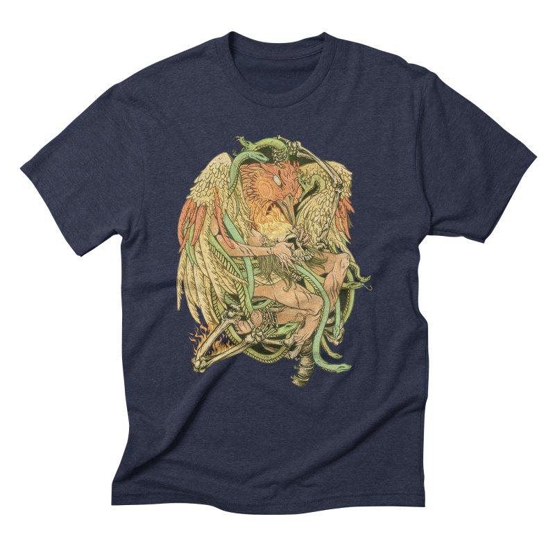 The Bird and Death Men's Triblend T-Shirt by lydiabrim's Artist Shop