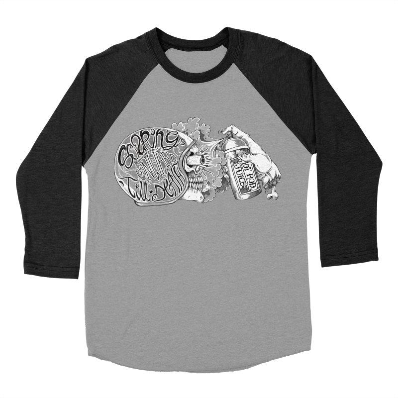 HR Juice Men's Baseball Triblend T-Shirt by lydiabrim's Artist Shop