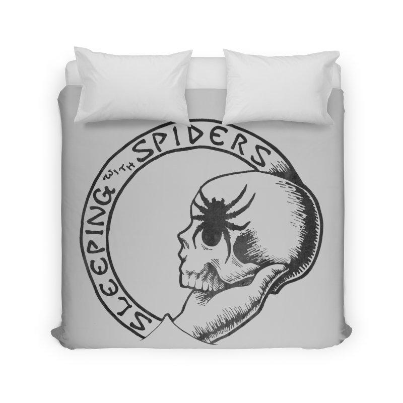 Sleeping with Spiders - dark Home Duvet by LydiaJae's Artist Shop