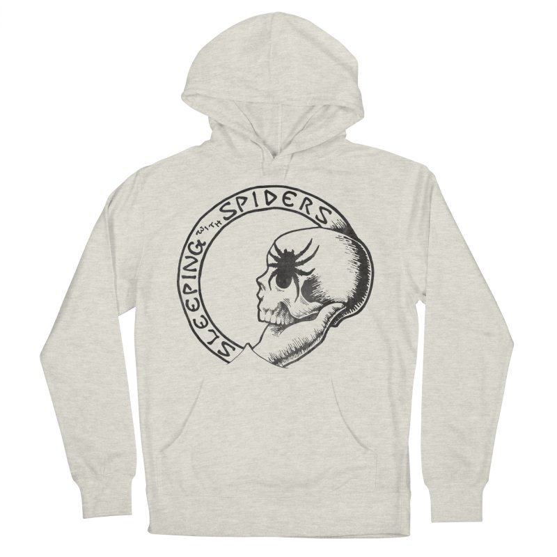 Sleeping with Spiders - dark Men's French Terry Pullover Hoody by LydiaJae's Artist Shop