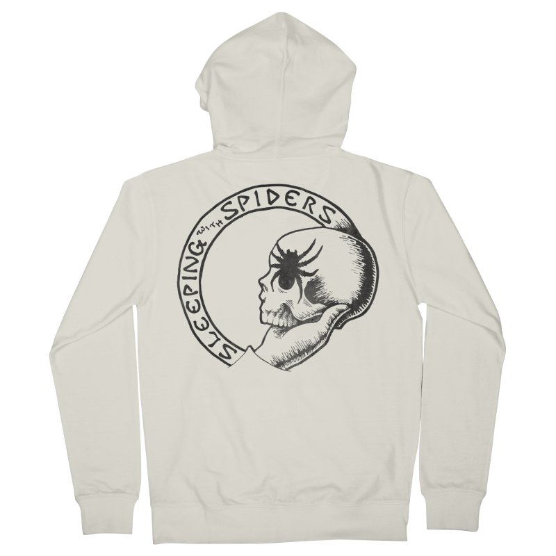 Sleeping with Spiders - dark Men's French Terry Zip-Up Hoody by LydiaJae's Artist Shop
