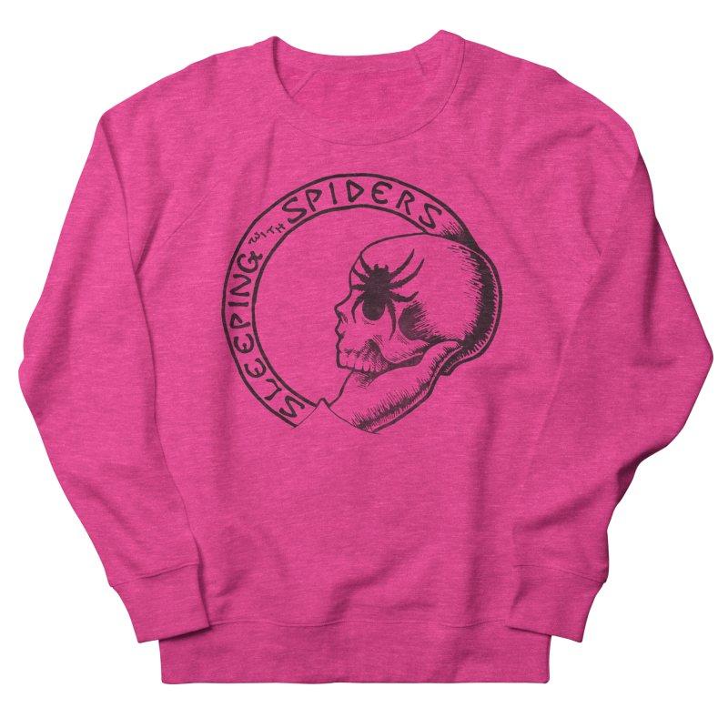 Sleeping with Spiders - dark Women's French Terry Sweatshirt by LydiaJae's Artist Shop