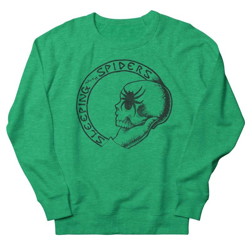 Sleeping with Spiders - dark Men's French Terry Sweatshirt by LydiaJae's Artist Shop