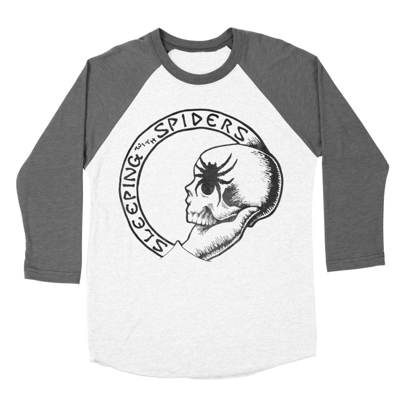 Sleeping with Spiders - dark Women's Baseball Triblend Longsleeve T-Shirt by LydiaJae's Artist Shop