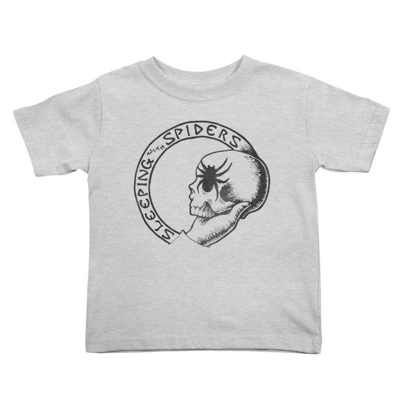 Sleeping with Spiders - dark Kids Toddler T-Shirt by LydiaJae's Artist Shop