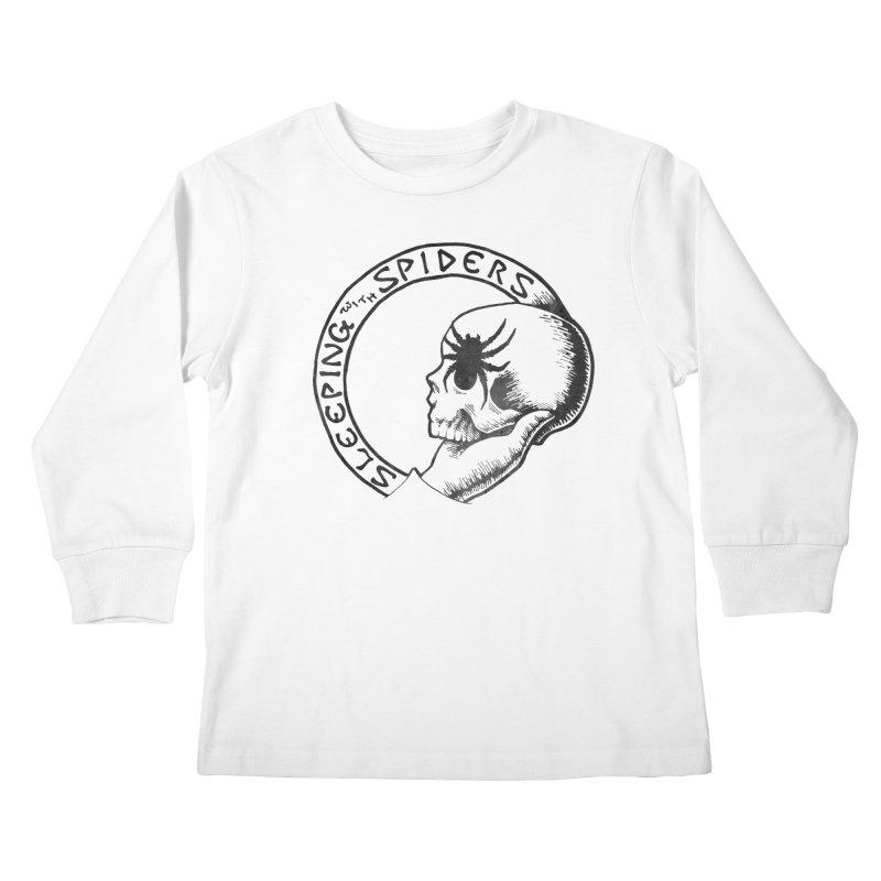Sleeping with Spiders - dark Kids Longsleeve T-Shirt by LydiaJae's Artist Shop