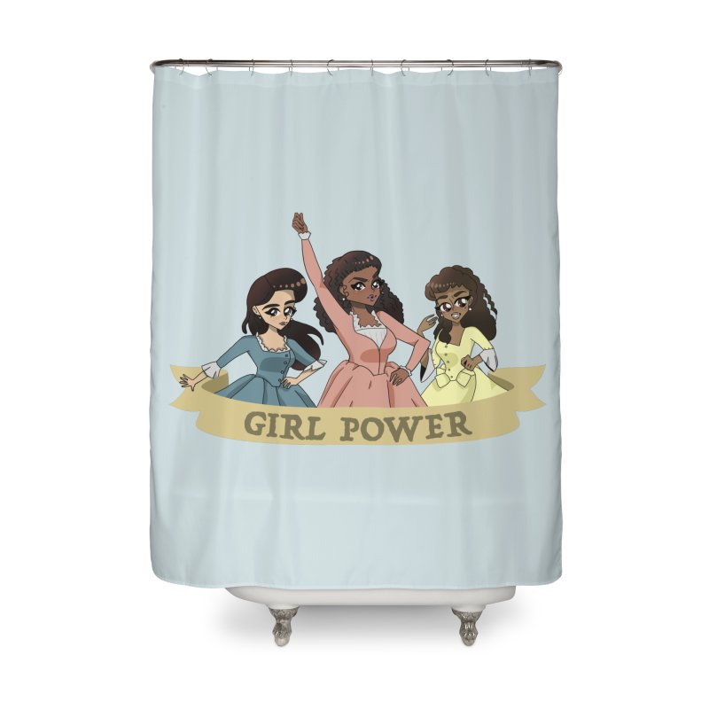 Singing Sisters Home Shower Curtain by LydiaJae's Artist Shop