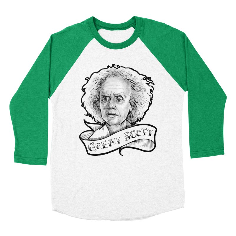 Great Scott! Women's Baseball Triblend Longsleeve T-Shirt by LydiaJae's Artist Shop