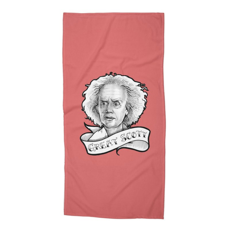 Great Scott! Accessories Beach Towel by LydiaJae's Artist Shop