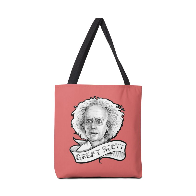 Great Scott! Accessories Tote Bag Bag by LydiaJae's Artist Shop