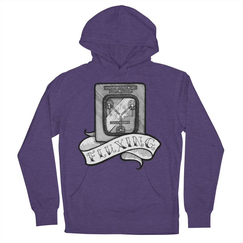 Fluxing Women's French Terry Pullover Hoody by LydiaJae's Artist Shop