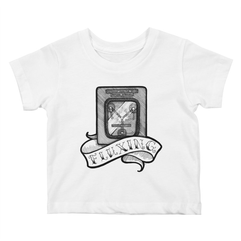 Fluxing Kids Baby T-Shirt by LydiaJae's Artist Shop