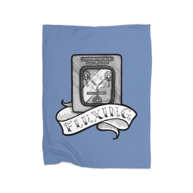 Fluxing Home Fleece Blanket Blanket by LydiaJae's Artist Shop