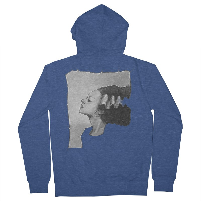 The Bride Men's French Terry Zip-Up Hoody by LydiaJae's Artist Shop