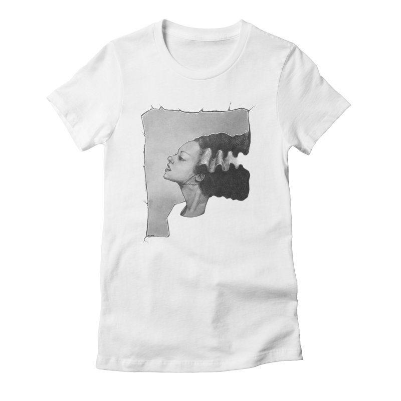The Bride Women's Fitted T-Shirt by LydiaJae's Artist Shop