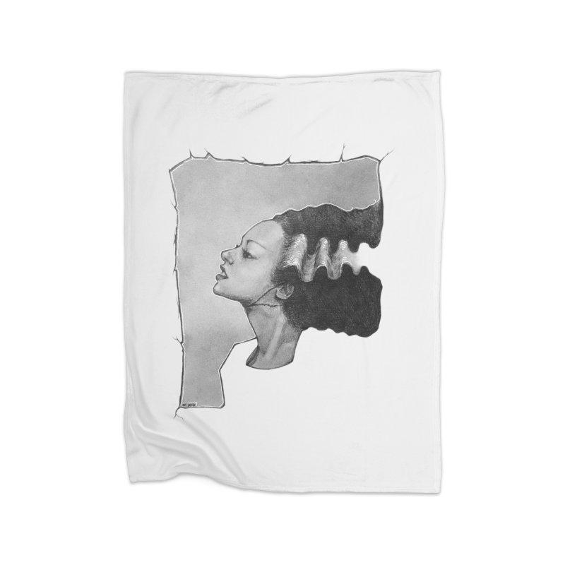 The Bride Home Fleece Blanket Blanket by LydiaJae's Artist Shop