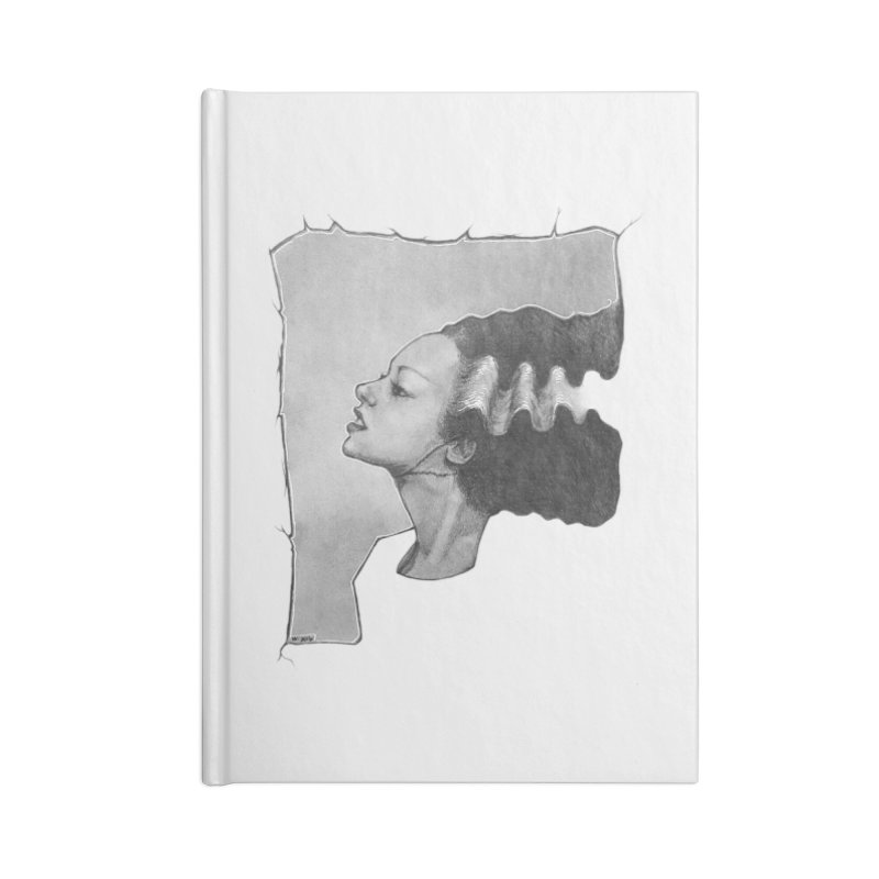 The Bride Accessories Blank Journal Notebook by LydiaJae's Artist Shop