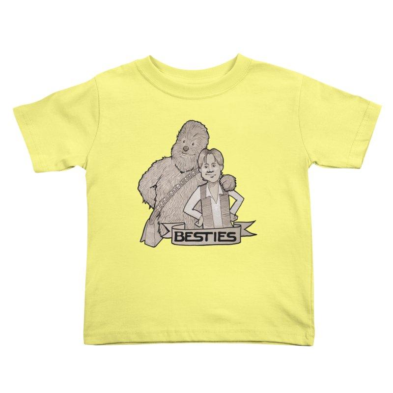 Besties Kids Toddler T-Shirt by LydiaJae's Artist Shop