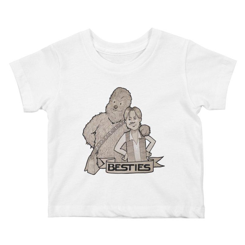 Besties Kids Baby T-Shirt by LydiaJae's Artist Shop