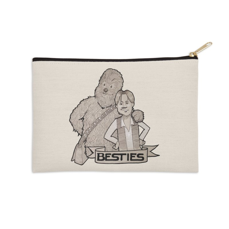 Besties Accessories Zip Pouch by LydiaJae's Artist Shop