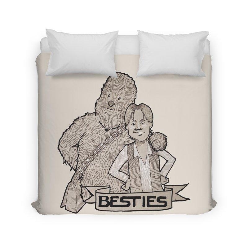 Besties Home Duvet by LydiaJae's Artist Shop