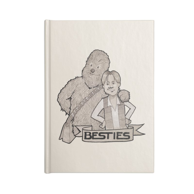 Besties Accessories Blank Journal Notebook by LydiaJae's Artist Shop