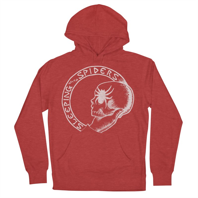Sleeping with Spiders - white Women's French Terry Pullover Hoody by LydiaJae's Artist Shop