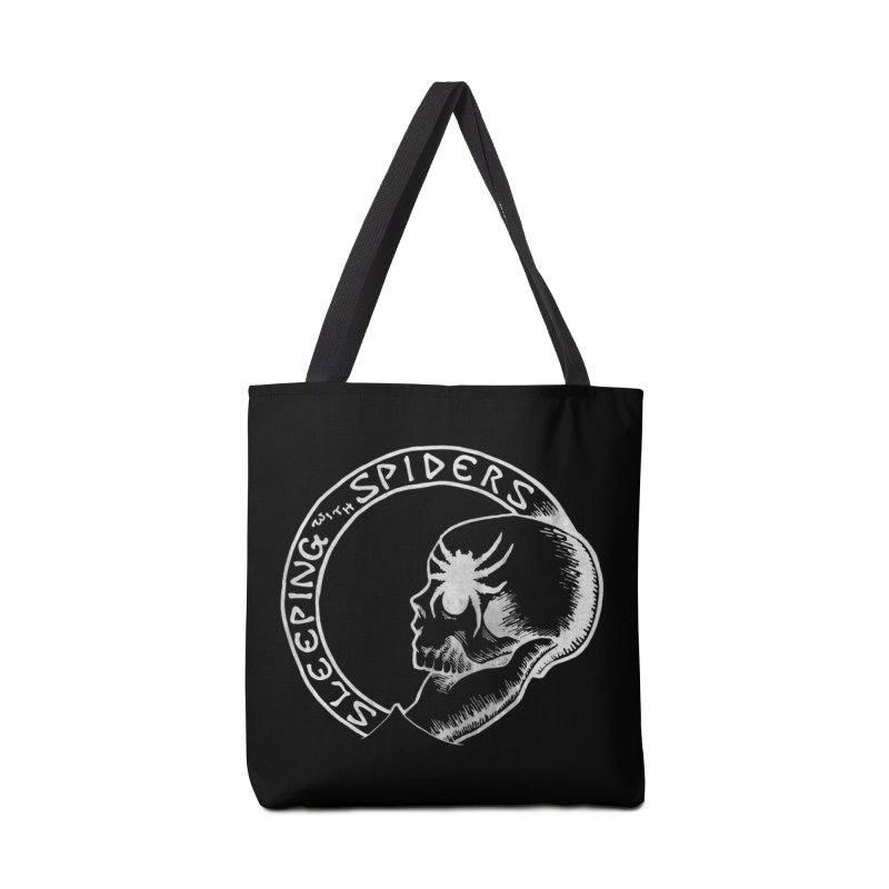 Sleeping with Spiders - white Accessories Tote Bag Bag by LydiaJae's Artist Shop