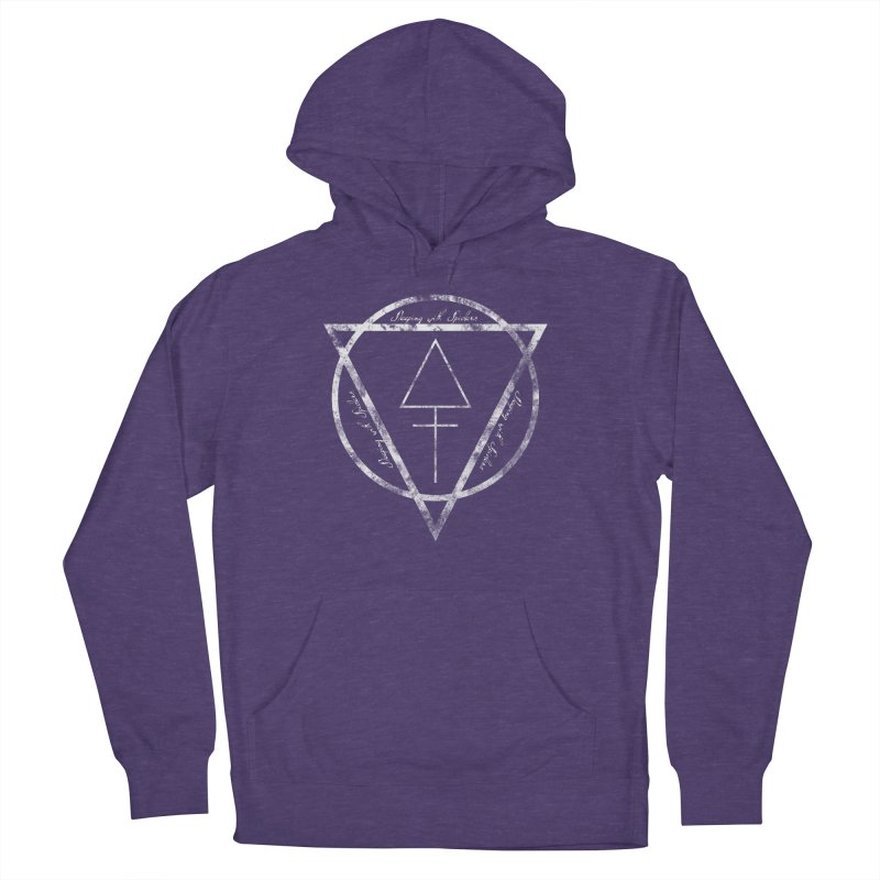 Sleeping with Spiders - Alchemy (white) Women's French Terry Pullover Hoody by LydiaJae's Artist Shop