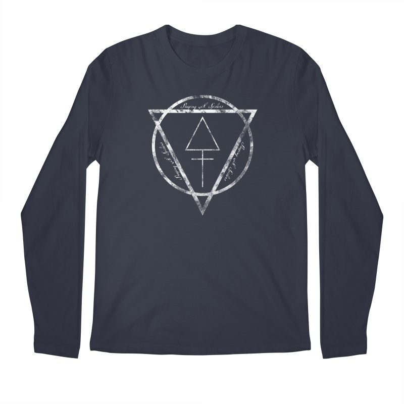 Sleeping with Spiders - Alchemy (white) Men's Regular Longsleeve T-Shirt by LydiaJae's Artist Shop
