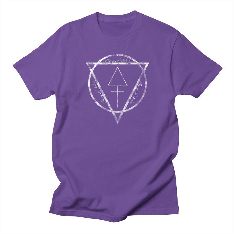 Sleeping with Spiders - Alchemy (white) Men's Regular T-Shirt by LydiaJae's Artist Shop
