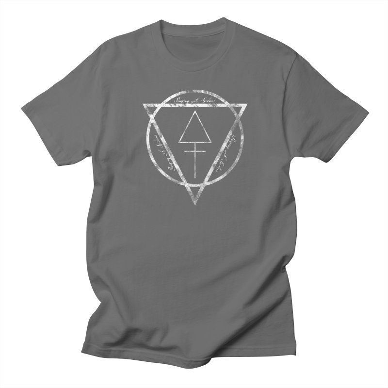 Sleeping with Spiders - Alchemy (white) Men's T-Shirt by LydiaJae's Artist Shop