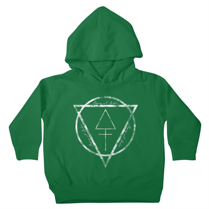 Sleeping with Spiders - Alchemy (white) Kids Toddler Pullover Hoody by LydiaJae's Artist Shop
