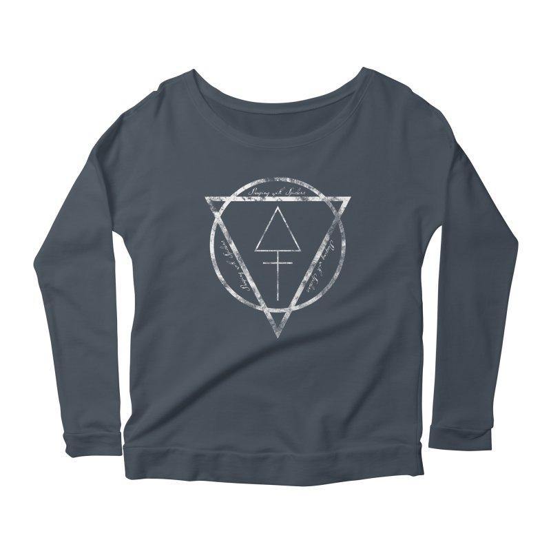 Sleeping with Spiders - Alchemy (white) Women's Scoop Neck Longsleeve T-Shirt by LydiaJae's Artist Shop
