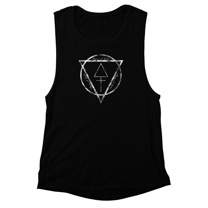 Sleeping with Spiders - Alchemy (white) Women's Muscle Tank by LydiaJae's Artist Shop