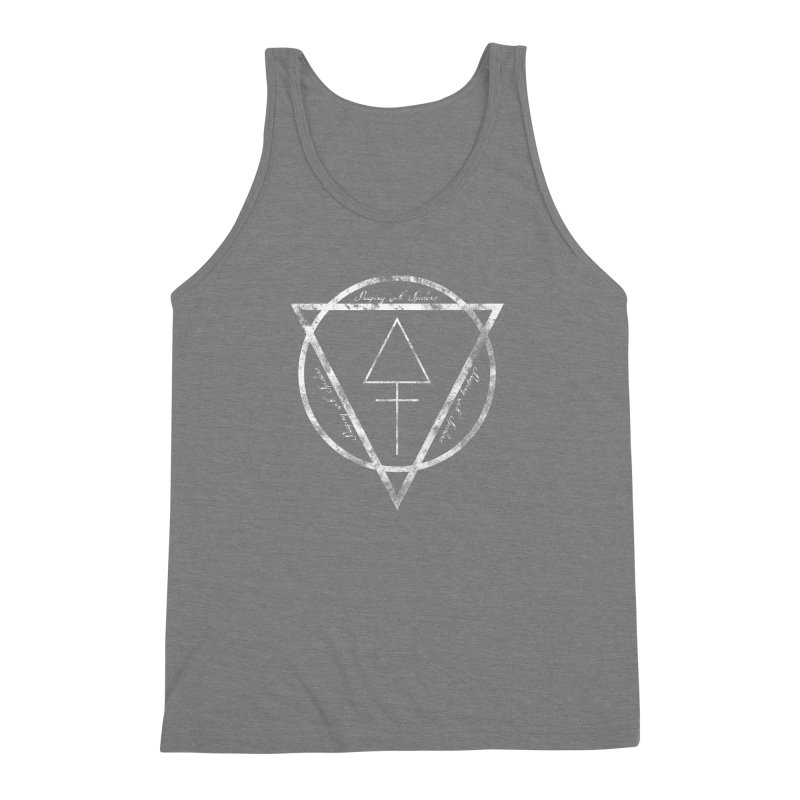 Sleeping with Spiders - Alchemy (white) Men's Triblend Tank by LydiaJae's Artist Shop