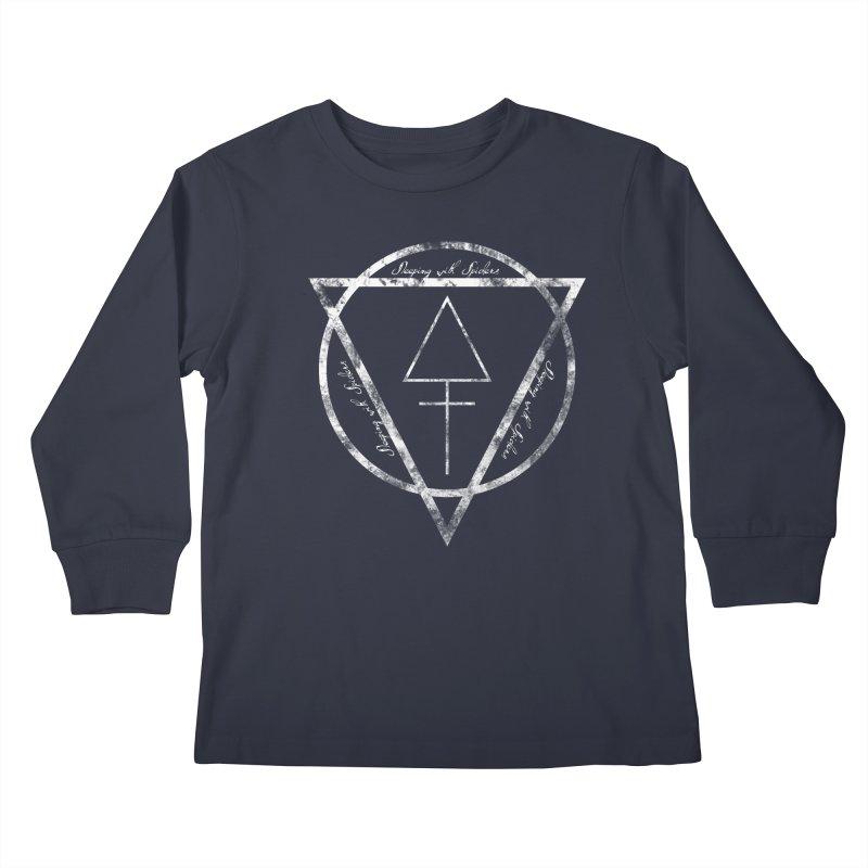Sleeping with Spiders - Alchemy (white) Kids Longsleeve T-Shirt by LydiaJae's Artist Shop