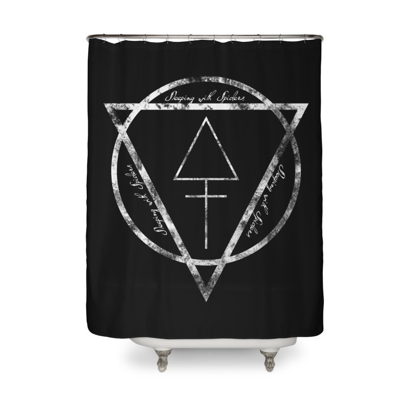 Sleeping with Spiders - Alchemy (white) Home Shower Curtain by LydiaJae's Artist Shop