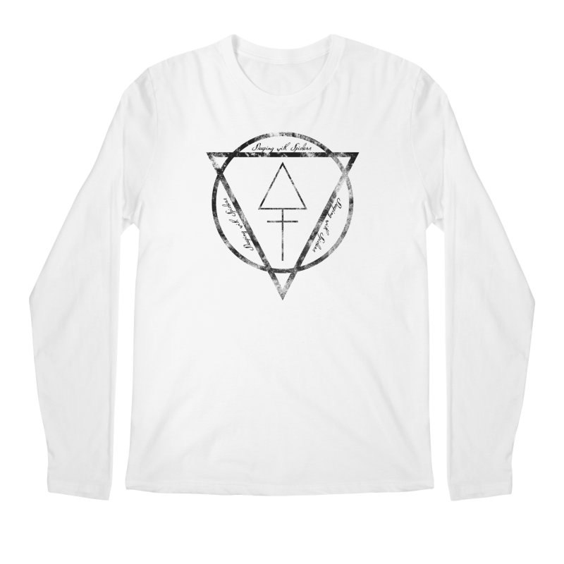 Sleeping with Spiders - Alchemy (black) Men's Regular Longsleeve T-Shirt by LydiaJae's Artist Shop
