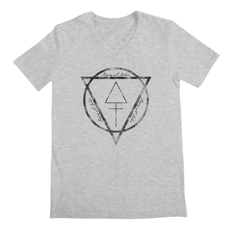 Sleeping with Spiders - Alchemy (black) Men's Regular V-Neck by LydiaJae's Artist Shop
