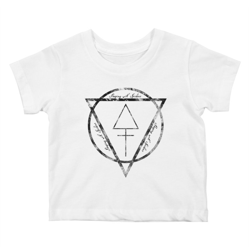 Sleeping with Spiders - Alchemy (black) Kids Baby T-Shirt by LydiaJae's Artist Shop