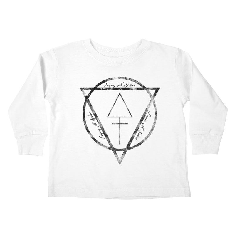 Sleeping with Spiders - Alchemy (black) Kids Toddler Longsleeve T-Shirt by LydiaJae's Artist Shop