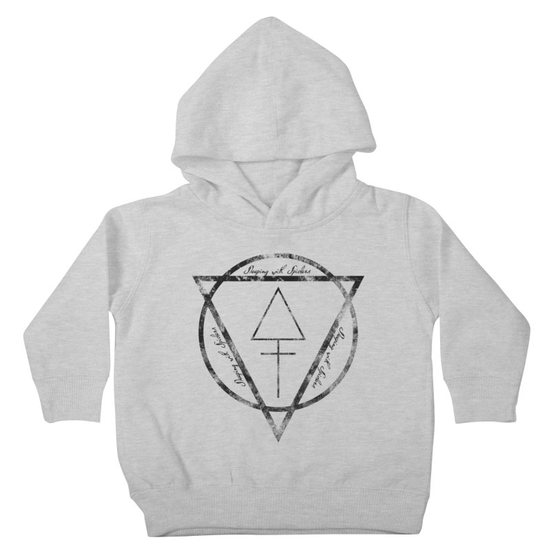 Sleeping with Spiders - Alchemy (black) Kids Toddler Pullover Hoody by LydiaJae's Artist Shop