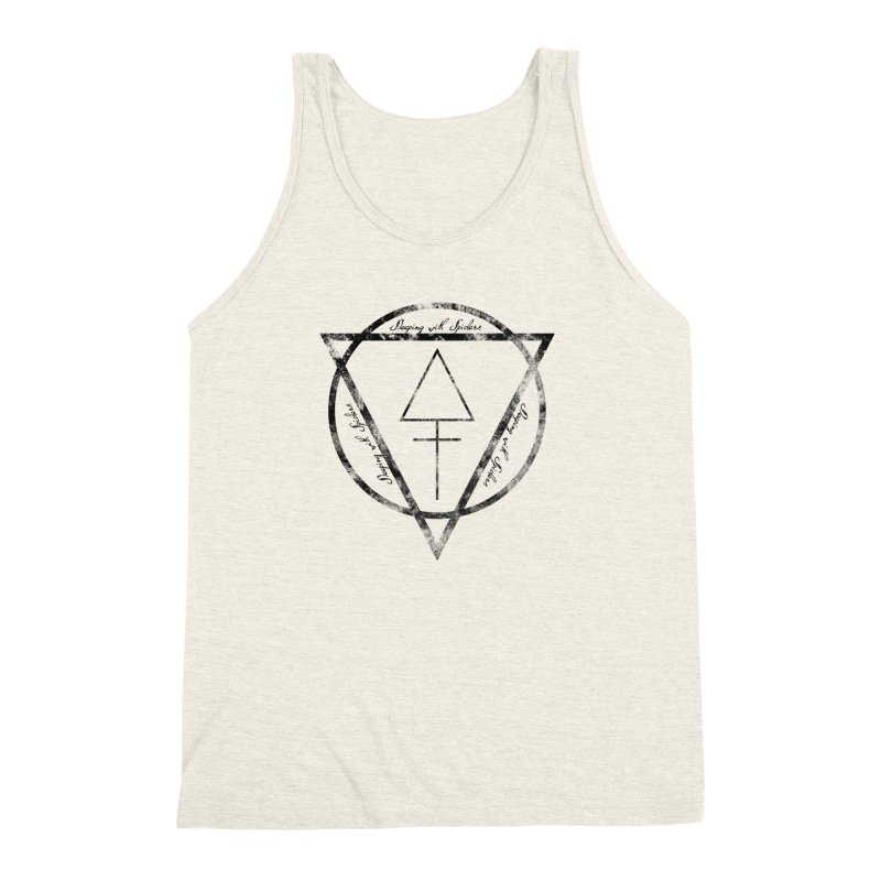 Sleeping with Spiders - Alchemy (black) Men's Triblend Tank by LydiaJae's Artist Shop