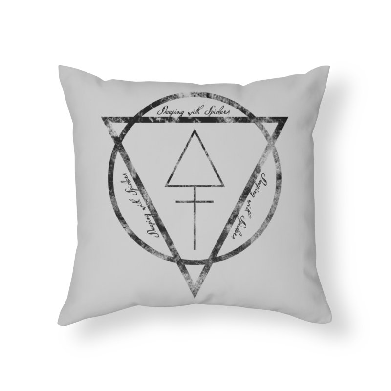 Sleeping with Spiders - Alchemy (black) Home Throw Pillow by LydiaJae's Artist Shop